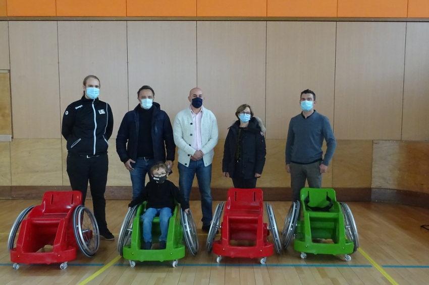 Solidarité : le Handball Club Auxerrois et la Ville promeuvent la différence dans la pratique sportive