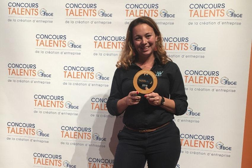 """"""" Prix Talents BGE """" : Marie BILLARD, grâce à CHEVAL PRO, n'en est plus à son galop d'essai !"""