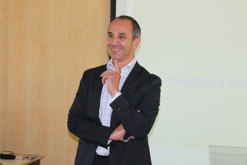 Première prise de contact pour Marc BESANCENEZ, nouveau directeur du groupe scolaire Saint-Joseph la Salle