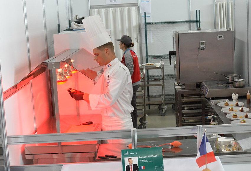 La première phase des finales nationales des WORLDSKILLS Cuisine accueillie au CIFA : une évidence !