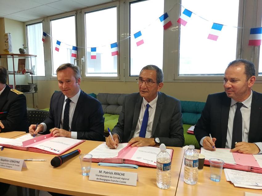 Aide à l'export des entreprises : un levier d'intervention quadripartite se développe en Bourgogne Franche-Comté