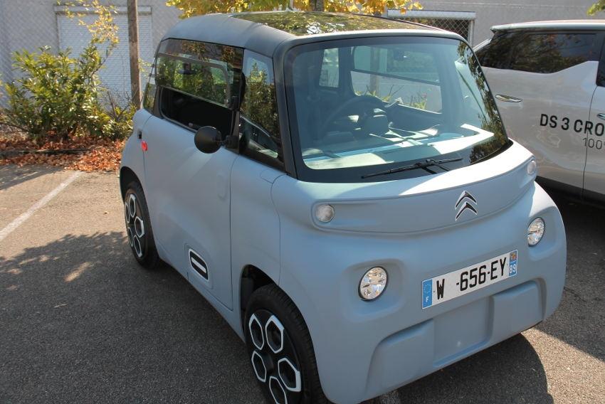 Citroën dévoile sa nouvelle citadine électrique aux artisans de l'Yonne : AMI pour la vie ?