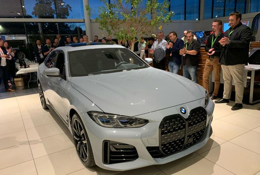 La nouvelle BMW Gran Coupé en vedette surprise à la soirée DYNABUY chez PANEL !