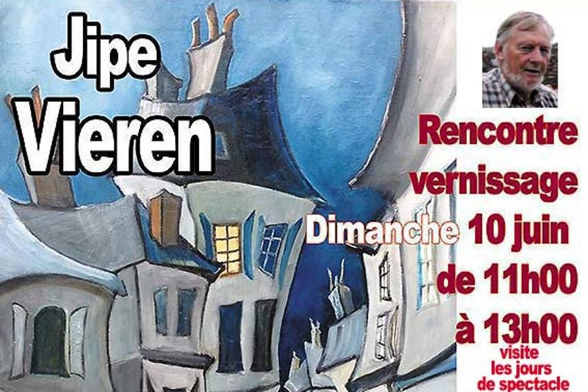 Chantre du « déformisme », l'artiste Jipe VIEREN exposera jusqu'au 24 juin à La CLOSERIE