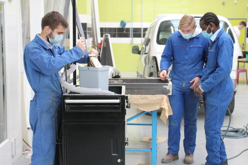 Les travaux s'achèvent en mai : un lifting à 648 000 euros pour moderniser l'atelier mécanique du CIFA de l'Yonne
