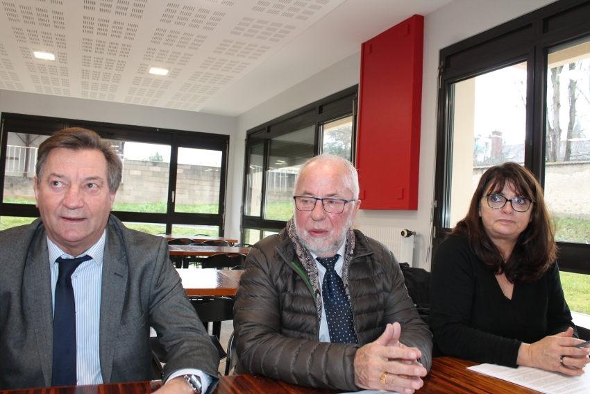 Le foyer des jeunes travailleurs se rénove à Auxerre : le satisfecit de Robert BIDEAU…