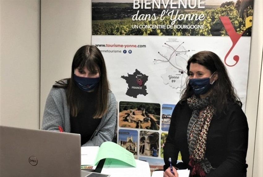 Yonne Tourisme atteint ses objectifs au salon Partir en France : quinze journalistes convaincus !