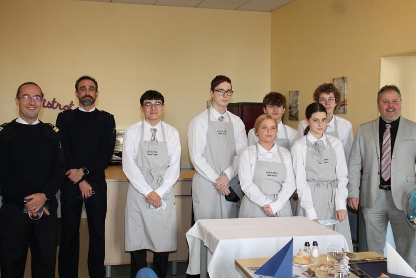 L'esprit du grand large souffle sur le lycée Vauban, vivier de jeunes recrues pour la Marine nationale…