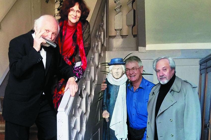 L'un des spectacles du 12ème Festival des ETAISIADES rendra hommage à l'œuvre de Marie NOEL