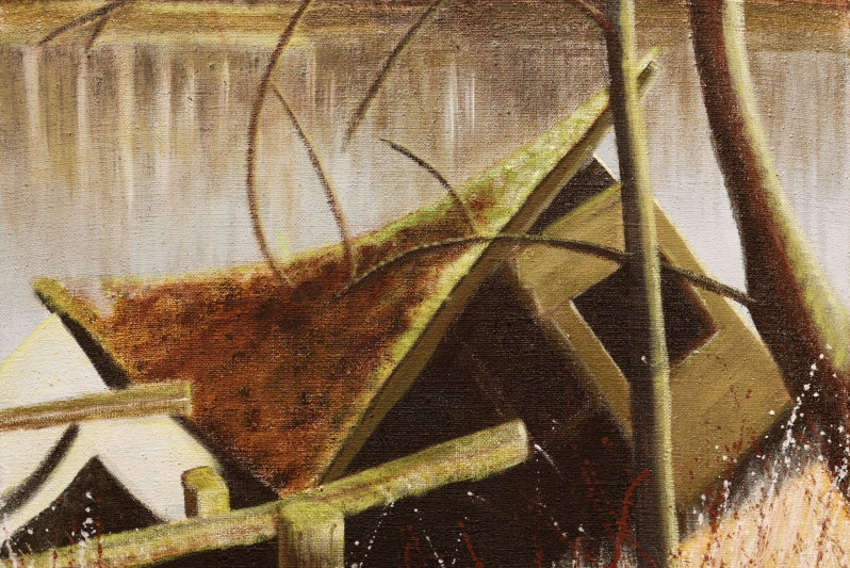 « Paysages » : les toiles de Véronique FANTI s'apprécient tout l'été dans l'Yonne…
