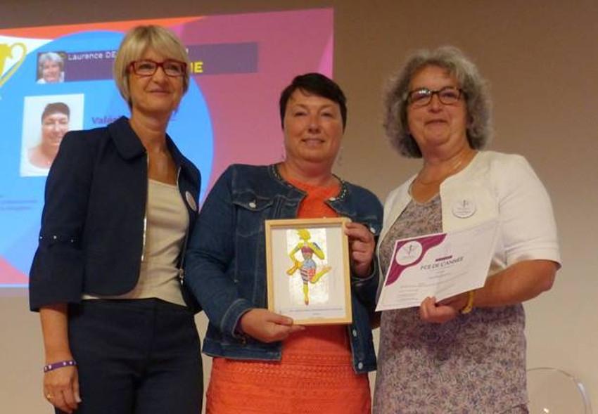 Valérie BARTIAL (BGAT) reçoit une distinction nationale des Femmes Chefs d'Entreprises…