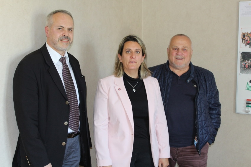 La députée de la Nièvre Perrine GOULET a été sensibilisée à la lutte contre le diabète par le président de l'AFD BFC…