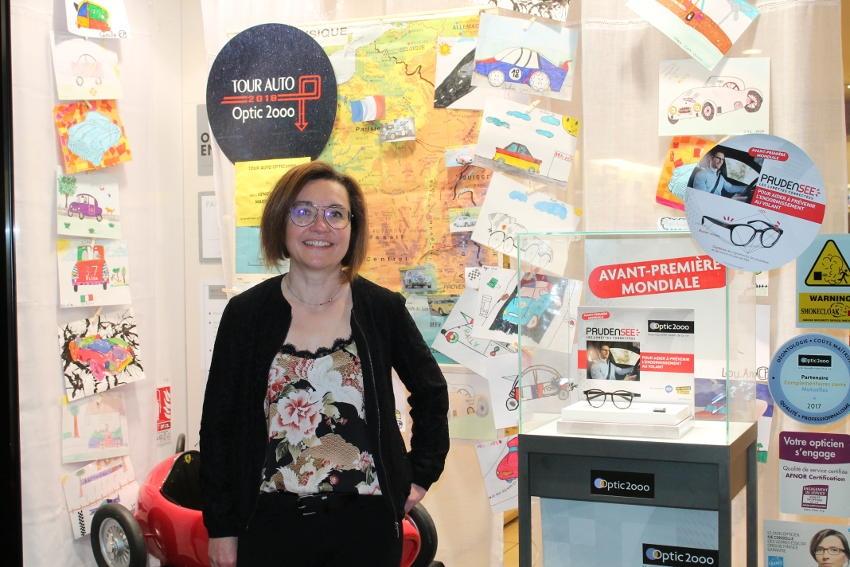 Frédérique LECOMTE (OPTIC 2000 Auxerre) : « la fierté d'apporter ma contribution à la prévention routière »