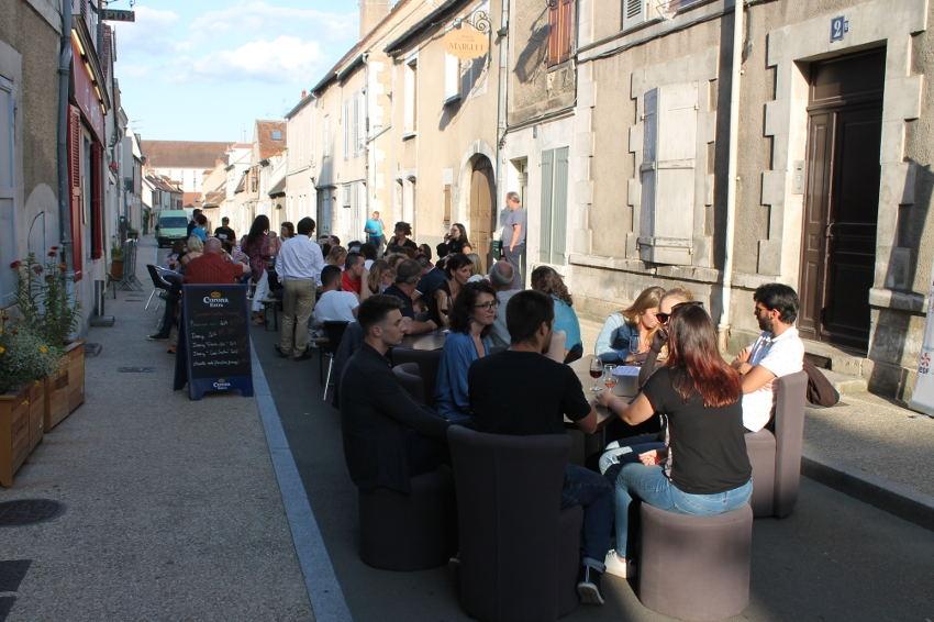 Des « bulles piétonnes » pour apporter de l'oxygène aux bars et restaurants d'Auxerre