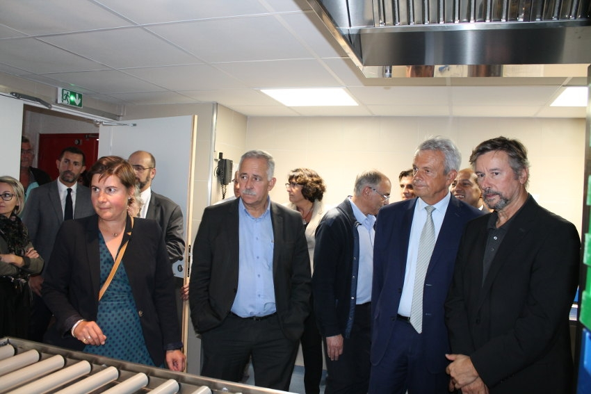 La Cité scolaire des Chaumes à Avallon développe une offre alimentaire en circuit court