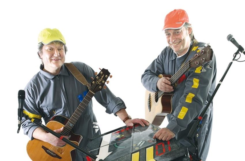 Les duettistes du « Zingophone » investiront le marché de Noël à Gy l'Evêque
