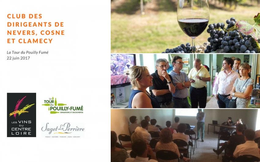 Le Club des dirigeants de Cosne sur Loire s'intéresse aux perspectives offertes par l'économie régionale…