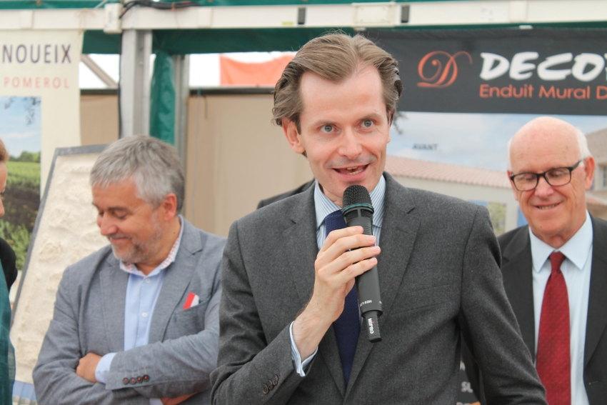 Ecole vétérinaire de CHAMPIGNELLES : Guillaume LARRIVE (LR) ne lâchera pas la proie pour l'ombre…