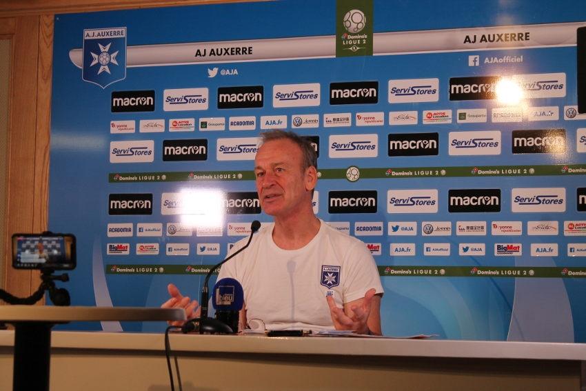 L'AJA se déplace à Châteauroux : Jean-Marc FURLAN table sur un rebond offensif de son équipe…