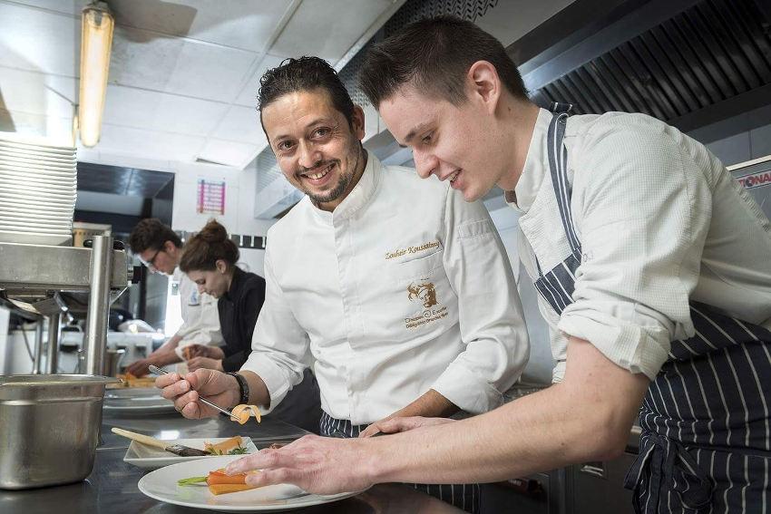 IRON COOK 2018 : la passion de la cuisine accomplie donne des ailes au Grenoblois Loïc VALENTIN…