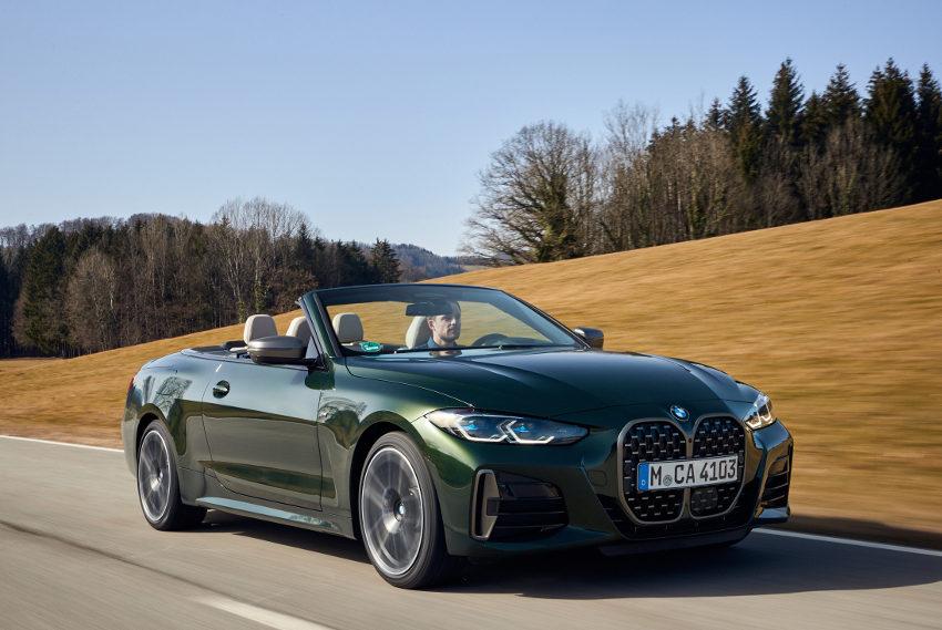 Eté indien : frissons de plaisir au grand air avec la BMW Série 4 Cabriolet !