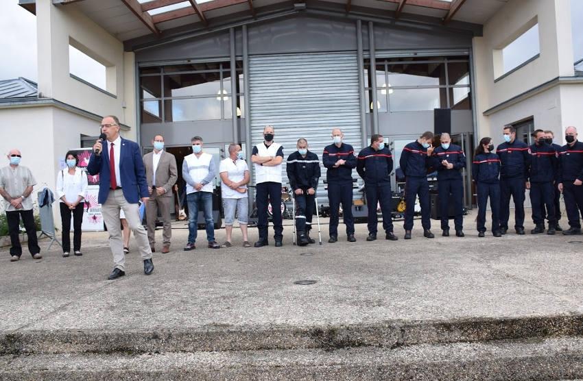 16 professionnels ont sauvé une vie à VENOY : la bravoure et le savoir-faire plébiscités par Christophe BONNEFOND