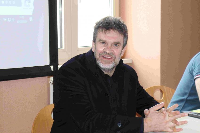 Une star du ballon rond version audiovisuelle à l'AJA Association : Hervé MATHOUX retrouve ses amis !