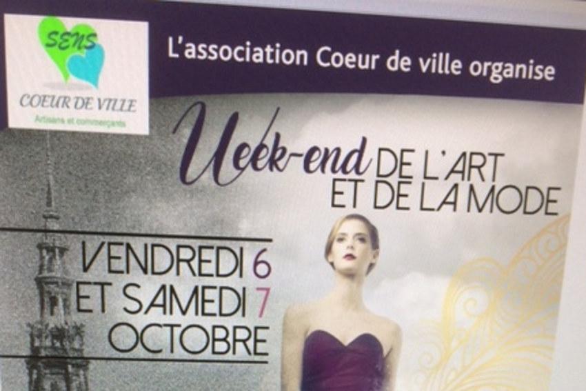 La Fashion Week rythmera le « Cœur de Ville » de Sens les 06 et 07 octobre…
