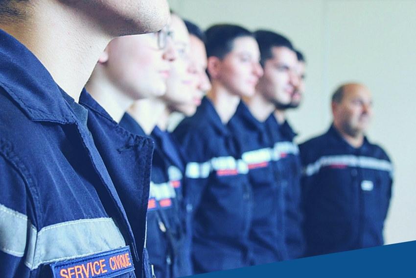 Dix volontaires issus du service civique prêteront main forte aux sapeurs-pompiers de l'Yonne dès le printemps