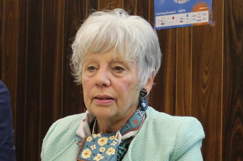 Marité CATHERIN (Maison des Jumelages, de la Francophonie et des Echanges internationaux) : le patrimoine est porteur de développement économique…