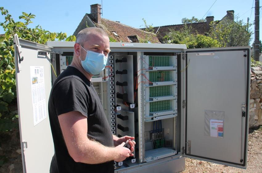 ORANGE accélère le déploiement de la fibre optique dans l'Yonne : la révolution industrielle est en marche…