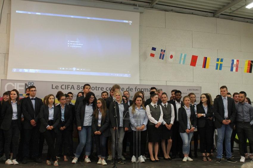 Une pluie de distinctions honore les apprentis de l'excellence du CIFA de l'Yonne