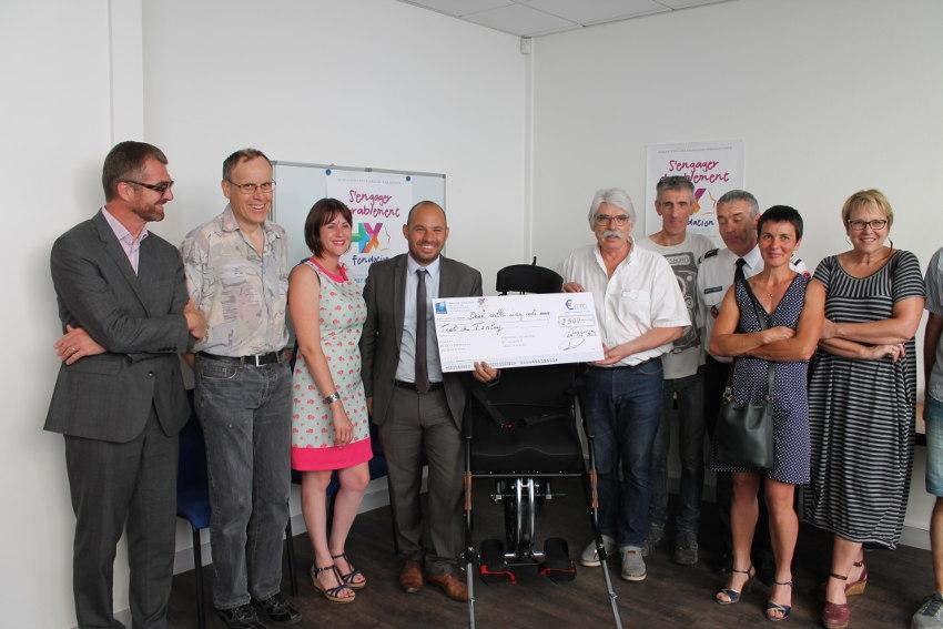 La Fondation Banque Populaire Solidarité soutient les initiatives généreuses autour du « TRAIL de Tanlay »…