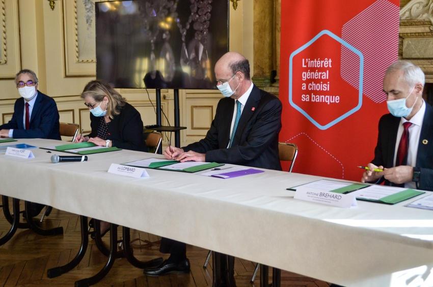 La Banque des Territoires renforce ses liens avec la ville de Sens : c'est bénéfique pour le commerce de proximité…