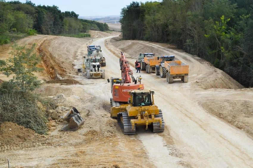 La seconde phase des travaux respecte les délais : la déviation sud de Sens sera accessible fin 2022