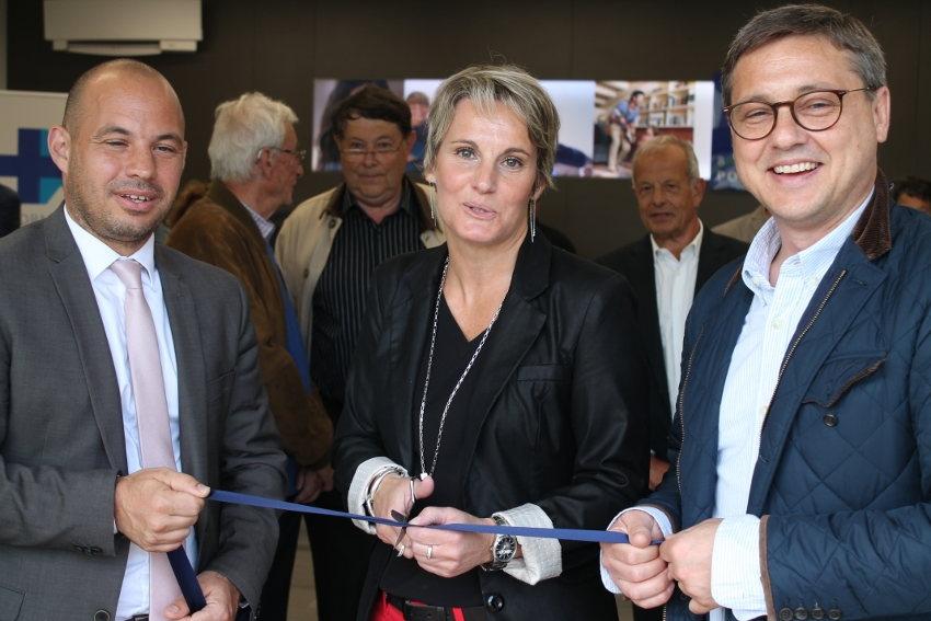 Le concept « e-NOV'AGENCE » de la Banque Populaire BFC marque l'Yonne de son empreinte officielle…