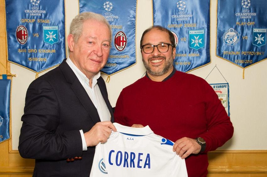 L'AJ Auxerre relèvera-t-elle la tête grâce aux conseils avisés de Pablo CORREA ?