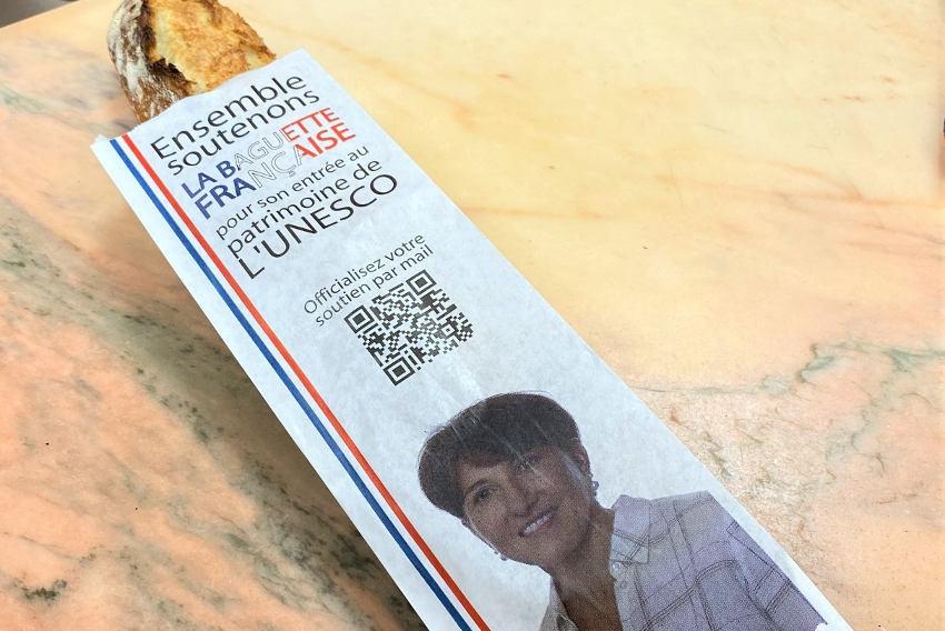 La sensibilisation s'annonce croustillante : Michèle CROUZET à la baguette pour valoriser le pain français !