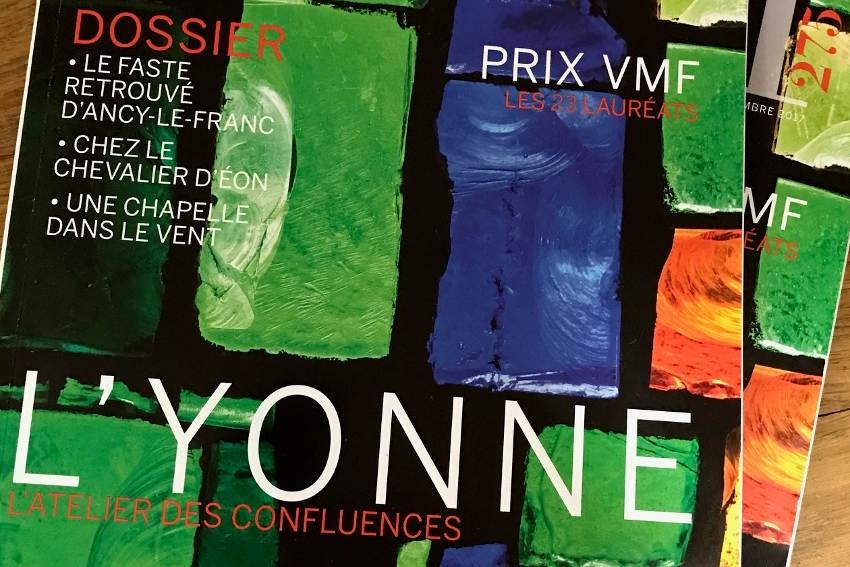 Le magazine « Vieilles Maisons Françaises » vante les charmes insolites de l'Yonne