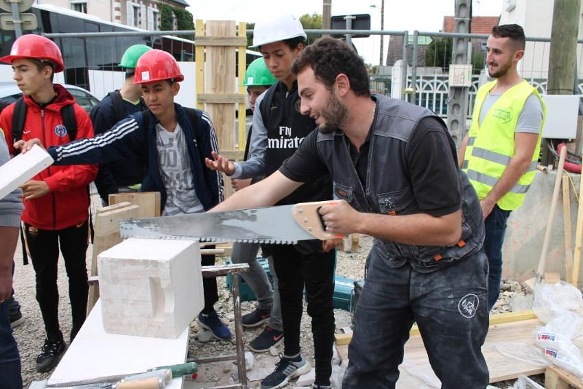 Plus de 650 jeunes collégiens de l'Yonne découvrent les métiers du bâtiment