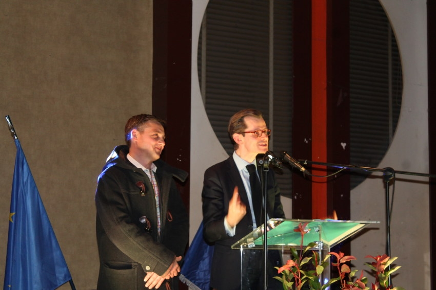 Vœux : Guillaume LARRIVE (LR) adoube publiquement son favori aux Municipales d'Auxerre, Crescent MARAULT