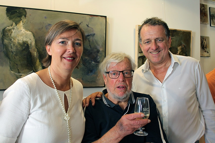 L'artiste Michel CARLIN premier hôte de la galerie MC2 ARCHITECTES