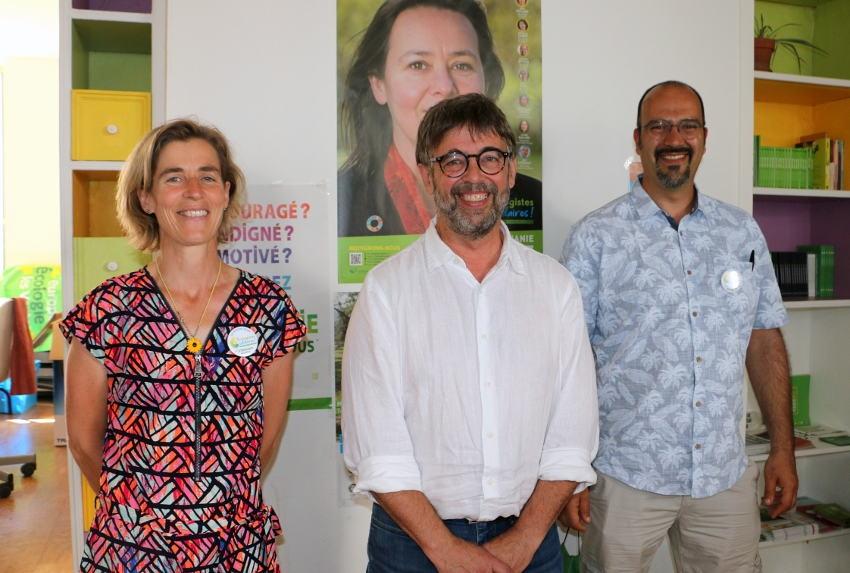 Damien CAREME et Stéphanie MODDE (EELV) à l'unisson : « L'agriculture actuelle ne peut plus nourrir la planète… »