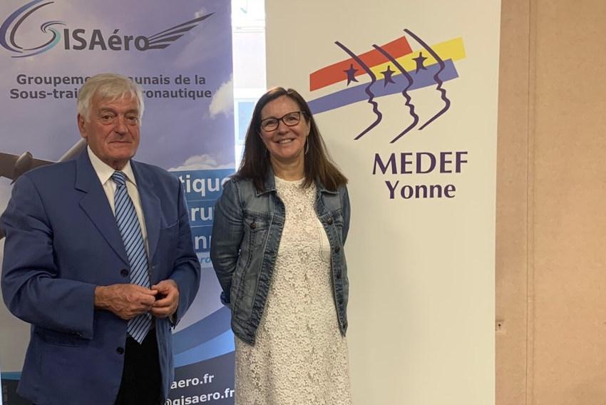 Emmanuèle BONNEAU en taille patron au MEDEF : la cheffe d'entreprise succède à Etienne CANO