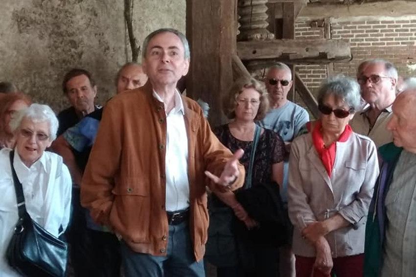 Hommage : les férus d'histoire et de patrimoine pleurent la disparition de Jean-Luc DAUPHIN