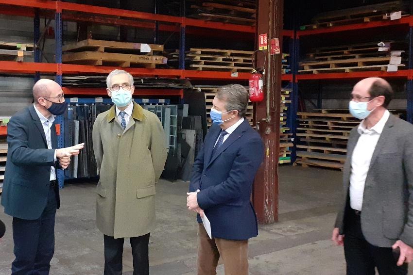 La PME va exporter sa borne « Fever Scan » : l'ingéniosité de SYSTEMES-ATTUM interpelle le préfet de l'Yonne…