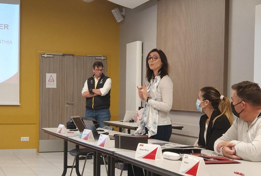 Le retour des réunions en présentiel comme un état de grâce : le BNI Migennes reprend goût au business !