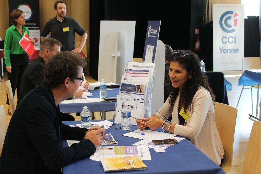 « Monte ta boîte 2018 » : les acteurs de l'entrepreneuriat prodiguent leurs conseils à l'invitation de la CCI de l'Yonne