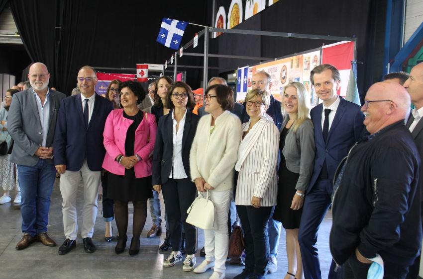 Entre sourires et décontraction : les personnalités de la sphère publique inaugurent la 91ème édition de la Foire d'Auxerre