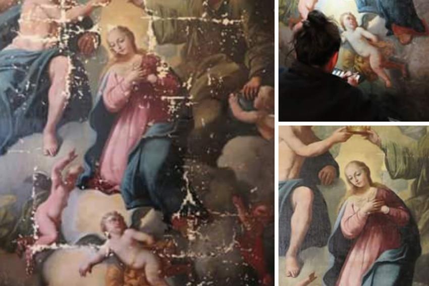 « Le couronnement de la Vierge » : un prochain retour remarqué en la chapelle Sainte Barbe de Beaumont !
